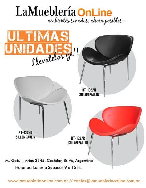 sillones individuales modernos sillones individuales modernos ecocuero y cromo para