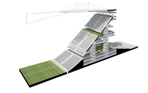 Architecture gallery of concept stadium dca 2