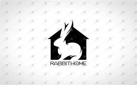 modern rabbit logo  sale bunny logo lobotz