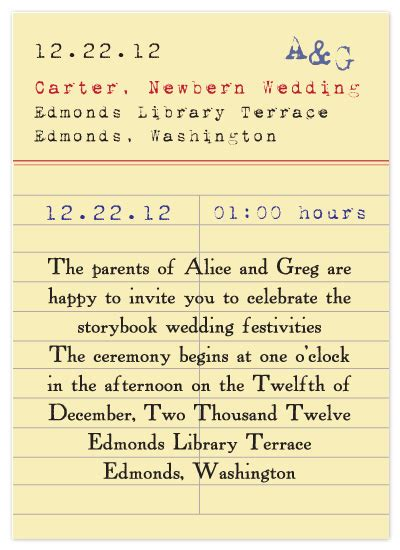 library due date card template for the parents wedding invitations vintage library card at minted
