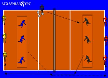 back setting drills volleyball volleyball back row attack ping pong by volleyballxpert com