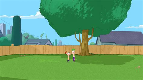 phineas and ferb backyard image 319a where s perry jpg phineas and ferb wiki