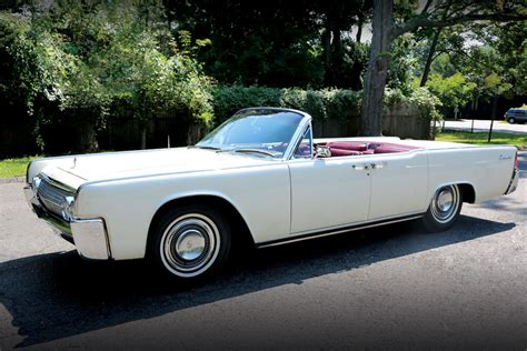 63 lincoln continental convertible f kennedy s cars bestride
