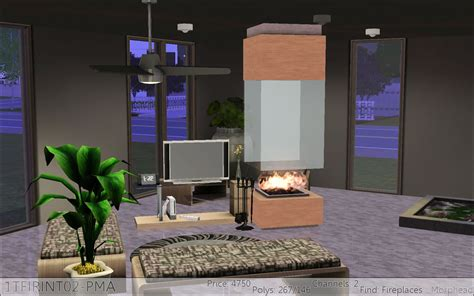 Sims Freeplay Fireplace by Mod The Sims Fireplaces By Pmaho P1 1 29