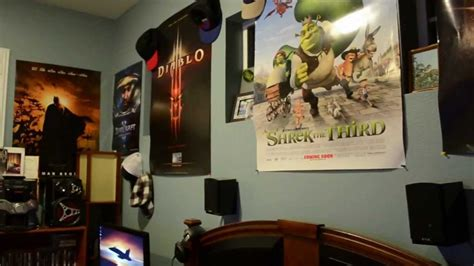 gaming room setup home theaterpcps  youtube