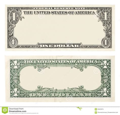 blank dollar bill template one dollar bill template eliolera