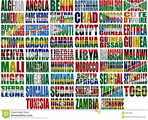 african countries flags africa countries flag words 28813800 jpg 1300 215 1054