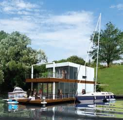 home water floating home from poland totally deluxe modern and
