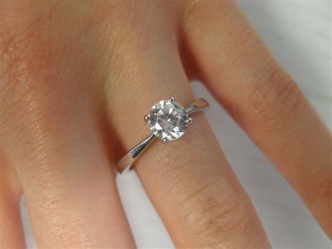 Solitaire Engagement Rings & Bands At Guaranteed Low