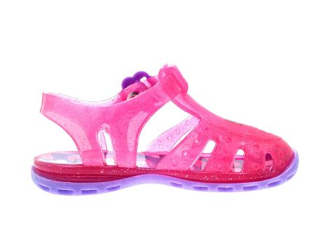 Jelly Shoes pink doc mcstuffins glitter jelly shoes