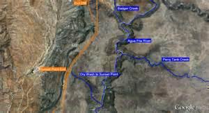 canyoneering slot canyons auga fria river