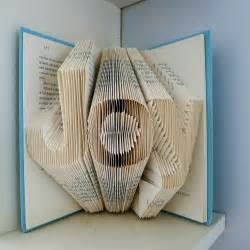 Decorative Artwork For Homes Home Decor Folded Book By Lucianafrigerio