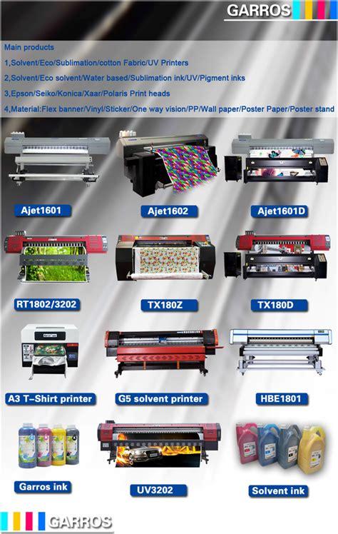 sublimation printable flex garros digital textile sublimation printing machine