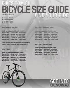 Bicycle bike frame size chart car interior design