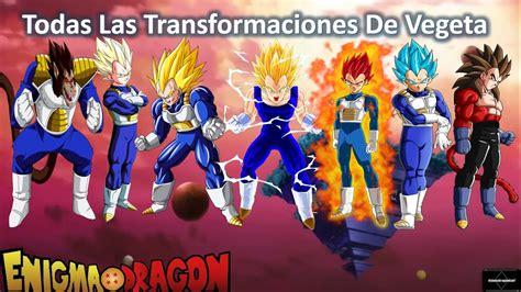 imagenes de goku todas las transformaciones todas las transformaciones de vegeta dragon ball super
