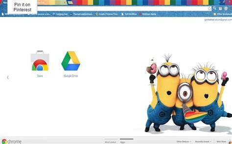 Theme Chrome Minions | top 10 despicable me chrome themes for 2015 brand thunder