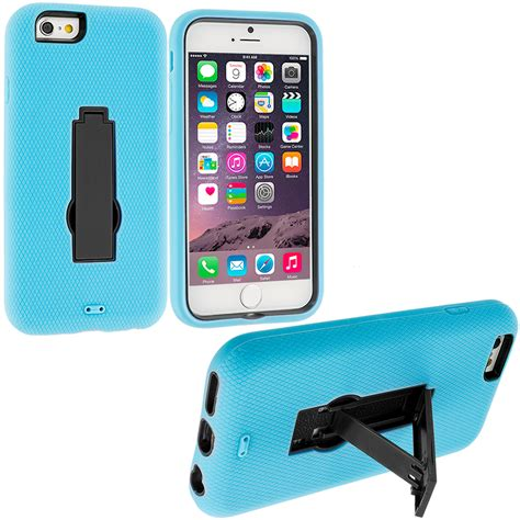 for apple iphone 6s 4 7 hybrid impact shockproof cover stand accessory ebay