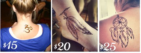 cost of henna tattoos orlando henna services temporary in florida