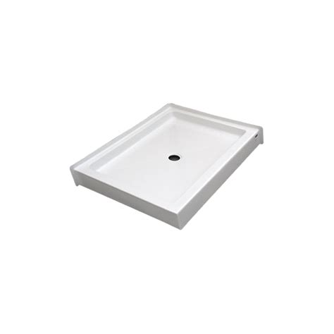 Drop In Shower Pan by Sb4836dt Rectangular Shower Base Glass World Bathtubs