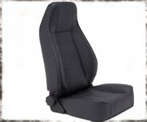 Jeep Seats 7 44901 Smittybilt Black Vinyl Front Seat Jeep Cj5