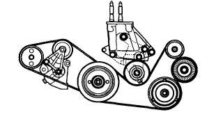 Auto Tensioner V Belt Kia Carnival Diesel Gigi Timing 151 0k55115981b how to replace a c and alt belt on 2005 kia sedona