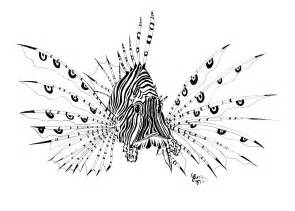 lion fish tattoo sample tattoobite com