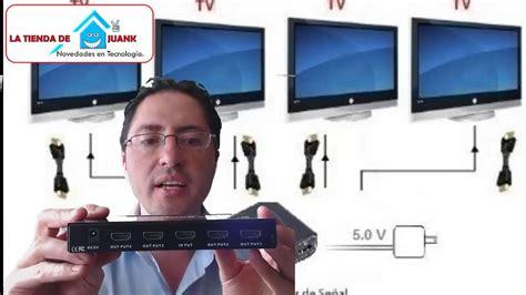 varias imagenes en una sola foto como proyectar video en varias pantallas o monitores para