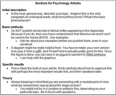 undergraduates write  wikipedia association  psychological science