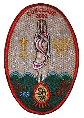 section 7a section sr 7 sr7 a 2002 conclave emblems