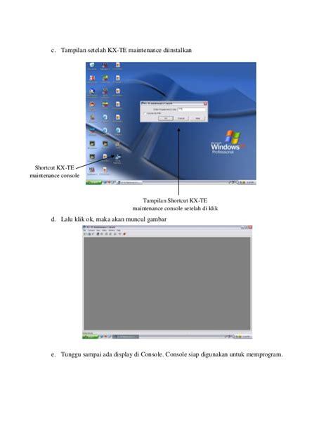 Pabx Panasonic Kx Tes824 168 setting 2 unit pabx kx tes824