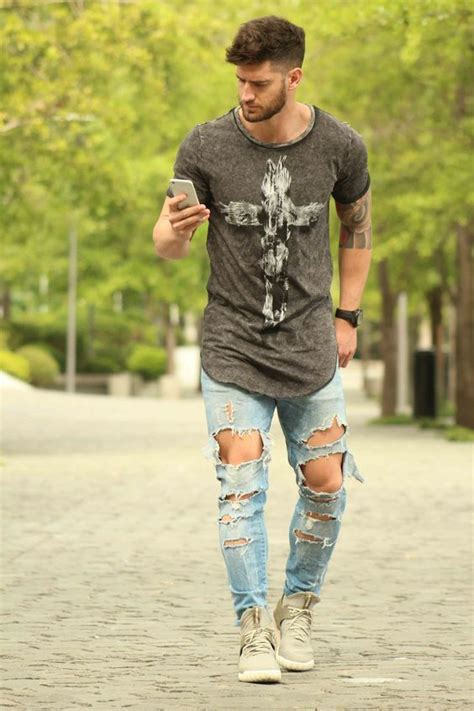 best 25 chicos fashion ideas on pinterest denim shirt 25 best ideas about ripped jeans men on pinterest