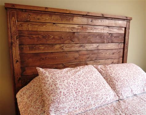 wood queen headboard pinterest