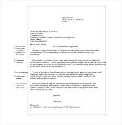 Customer Complaint Letter Format Sle Letter To Hr For Complaint About Shortage In Manpower Cover Letter Templates
