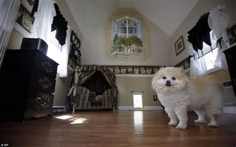 dog house inside 11 luxury dog houses worthy of mtv cribs barkpost