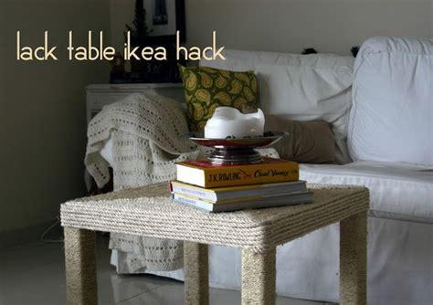 ikea lack table hacks hative