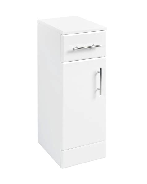 Good Value Kitchen Cabinets - beo floor standing cabinet 250 x 330mm high gloss white