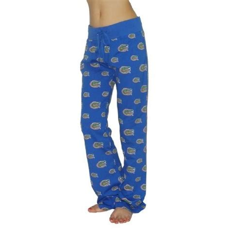 Alba Pajamas Blue womens ncaa florida gators cotton thermal sleepwear