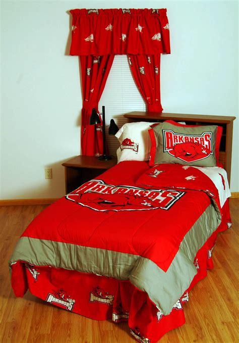 bed n a bag sets arkansas razorbacks bed n a bag set interiordecorating