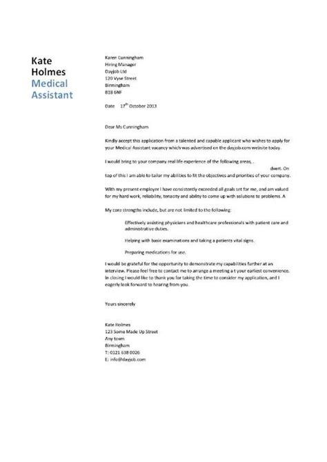 heathcare student cover letter exle student entry level assistant resume template