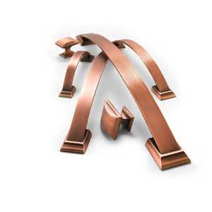 amerock 1902324 brushed copper cabinet hardware