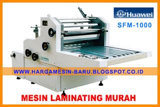 Mesin Laminating Thermal jenis mesin laminating yang ekonomis gt mesin murah