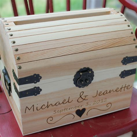 card box for wedding wedding card box treasure cwith special graphic by