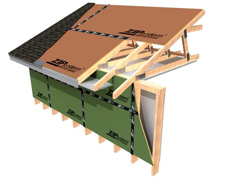 roof zip system roof sheathing - Zip System Roof Installation