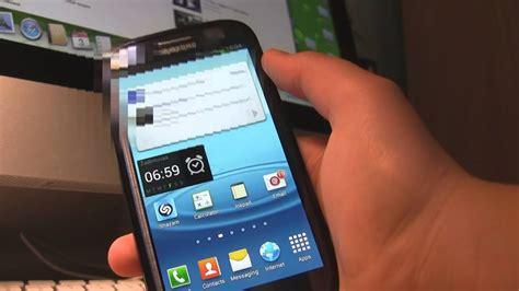 R Samsung Widget Tutorial How To Add Or Remove Widgets On Samsung Galaxy S3