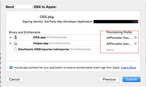 adsense xcode invalid provisioning profile location xcode 6 embeds it