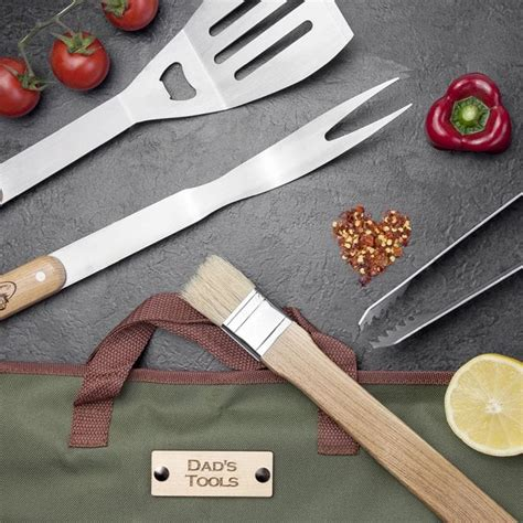 personalised barbecue tool set find me a gift