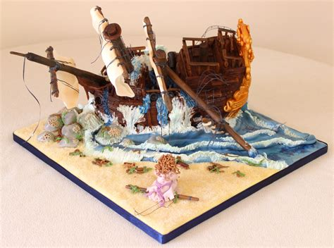 robinson crusoe bbc childrens 1408400650 shakespeare s twelfth night shipwreck cake underwater party ideas twelfth night