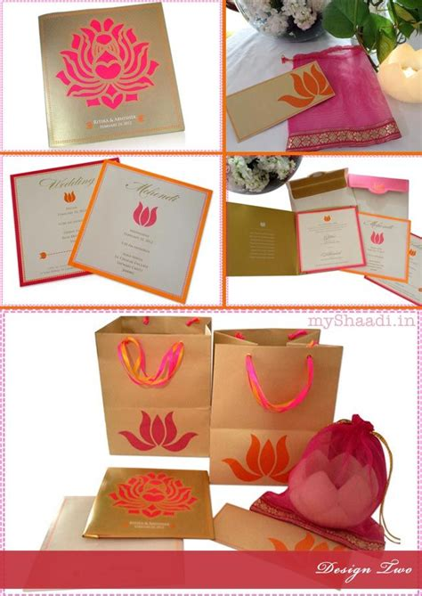 Wedding Invitation Card Design India by Indian Wedding Invitation Cards Trendy Design Ideas