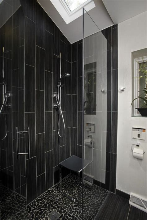 black bathroom tiles ideas wall decoration in the bathroom 35 ideas for bathroom
