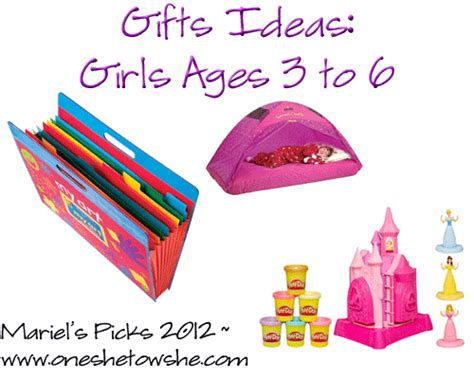 ideas for christmas gifts for 6 to 8 year olds gifts for ages 3 6 mariel s picks 2012 or so she says
